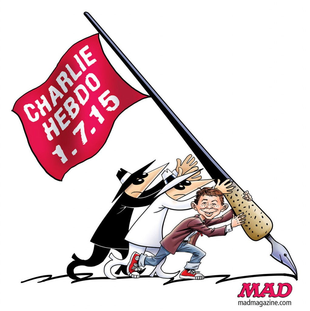 Comics World Responds to Charlie Hebdo Attack