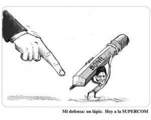 "Discriminatory Complaint Against Ecuadorian Cartoonist Declared ""Baseless"""