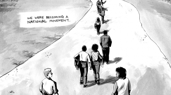 Using Graphic Novels In Education: March: Book Two   Comic