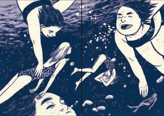 Using Graphic Novels in Education: This One Summer   Comic