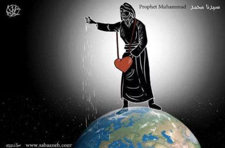 Palestinian Cartoonist Questioned About Possible Mohammed Cartoon