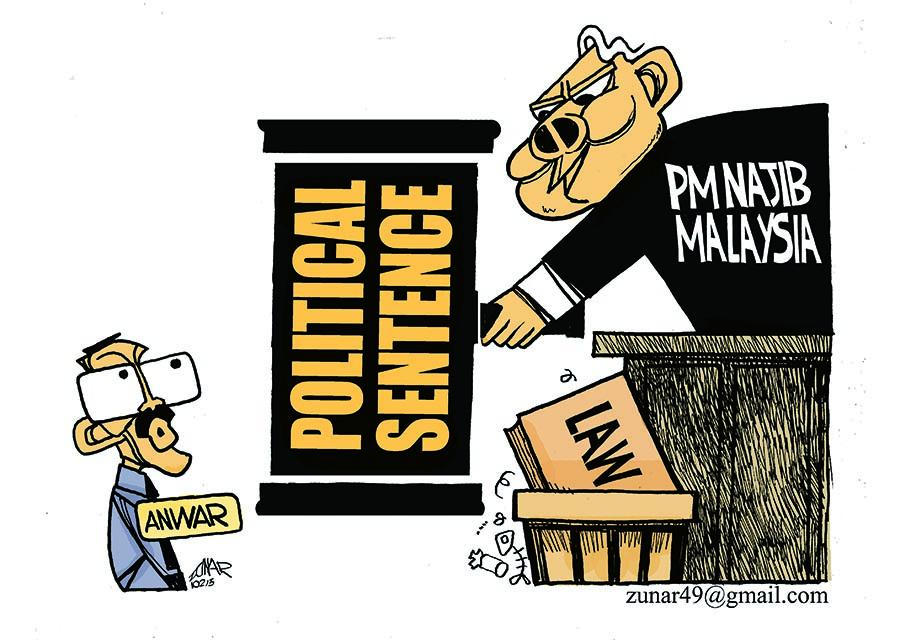 Zunar Arrested for Twitter Criticism of Malaysian Government