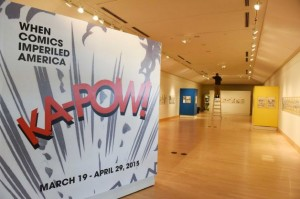 "Exhibit Examines ""When Comics Imperiled America"""