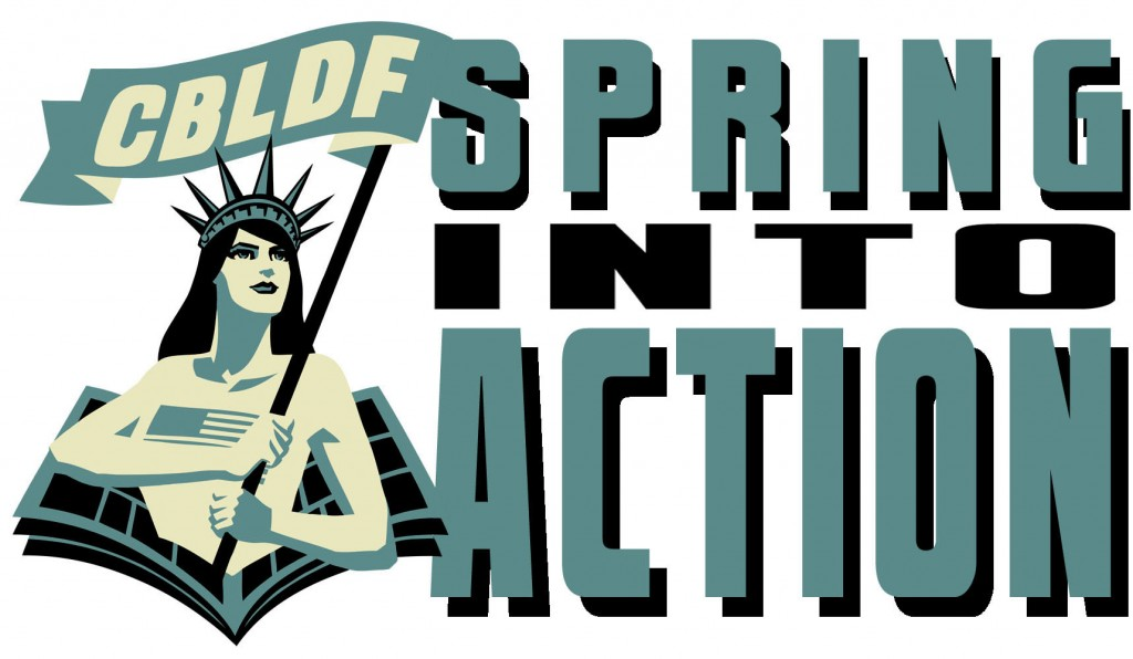 SPRING INTO ACTION To Support CBLDF's Comics History Work!