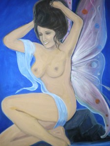 Nude Fairy Painting Returns to San Bernardino Library