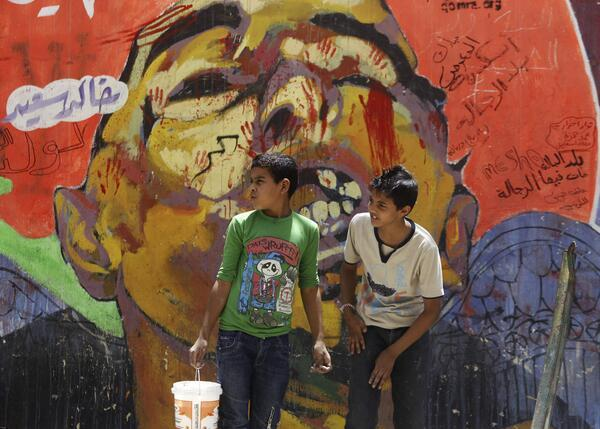 Egypt Cracks Down on Street Art
