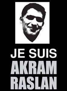 Je suis Akram Raslan