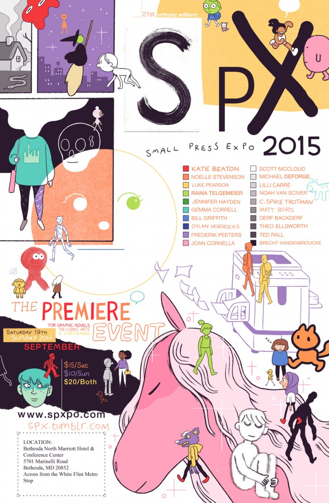 Comics Luminaries Join CBLDF This Weekend for SPX 2015!