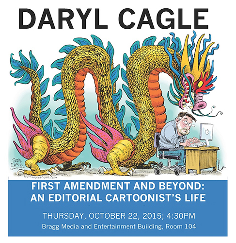 Daryl Cagle to Speak on First Amendment and Cartooning TOMORROW in Murfreesboro, TN