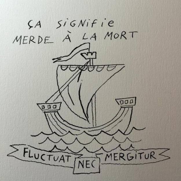 """""""It means fuck death""""Joann Sfar, France"""