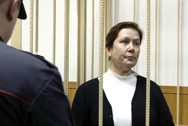 Natalia Sharina in court