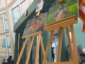 Removal of Paintings from Government Building Raises First Amendment Concerns