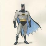 CBLDF - BATMAN PINUP Paolo Rivera_1