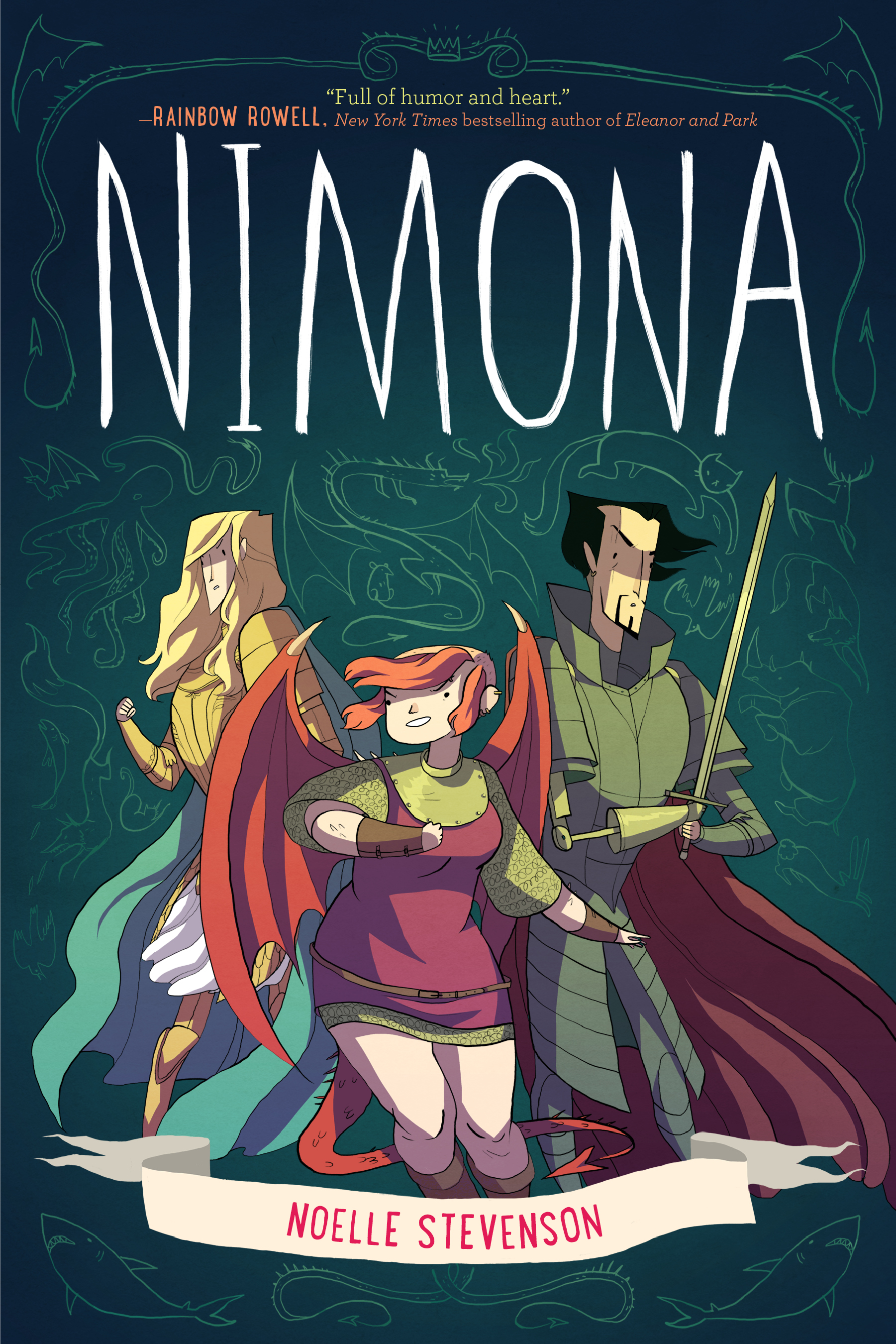 Image result for nimona book cover