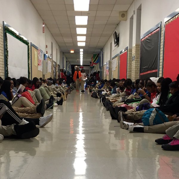 DuSable Campus read-in
