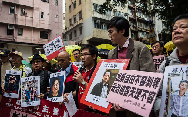 Five Hong Kong Booksellers Missing, Likely in Chinese Custody