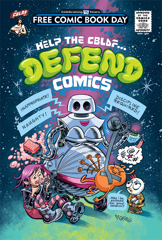 Retailers: The 2016 FCBD Edition of Defend Comics FOCs Today!