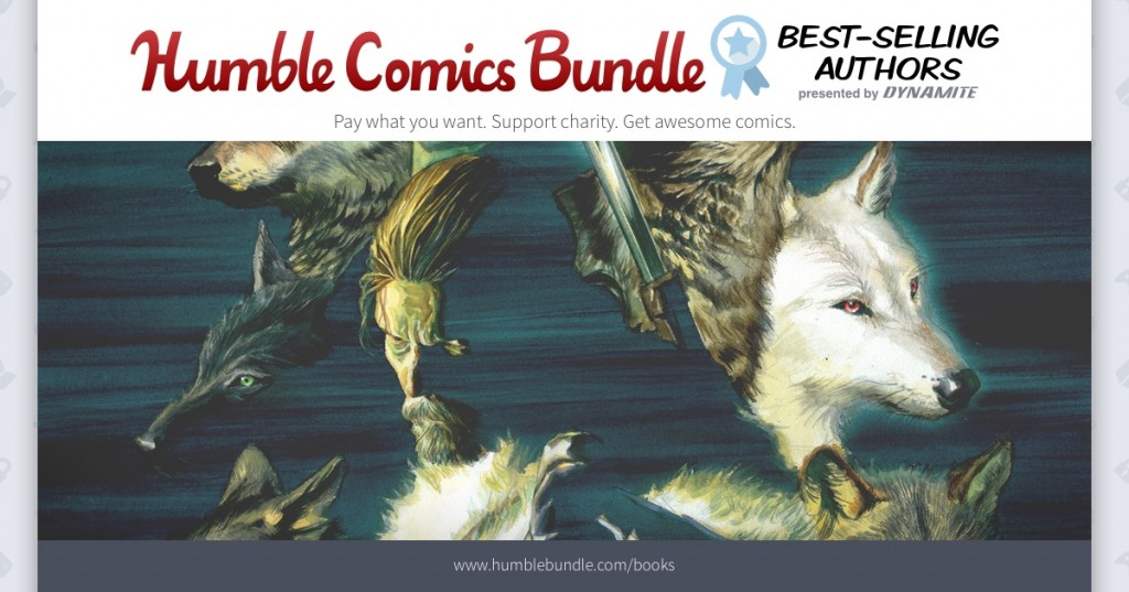 Dynamite Entertainment and Humble Pack Newest Bundle With the Biggest Names in Fiction for Charity, Including CBLDF!