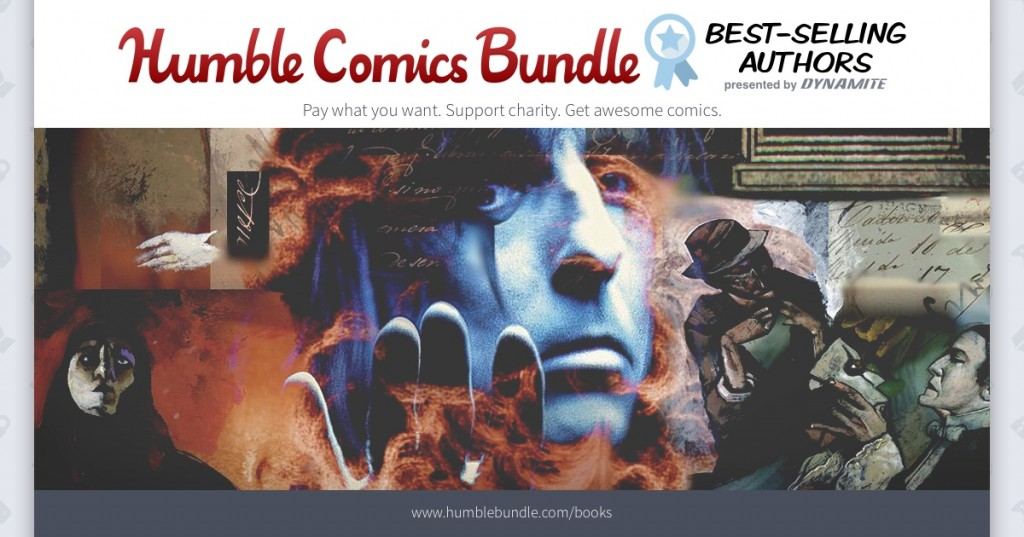 Dynamite Entertainment and Humble Bundle Expands for Charity, Including CBLDF!