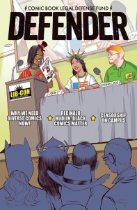 RETAILERS: Stock Up on CBLDF Defender #5, Featuring REGINALD HUDLIN! FOCs Today!