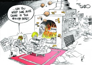 """""""Free Expression In Kenya Today"""" by Gado"""