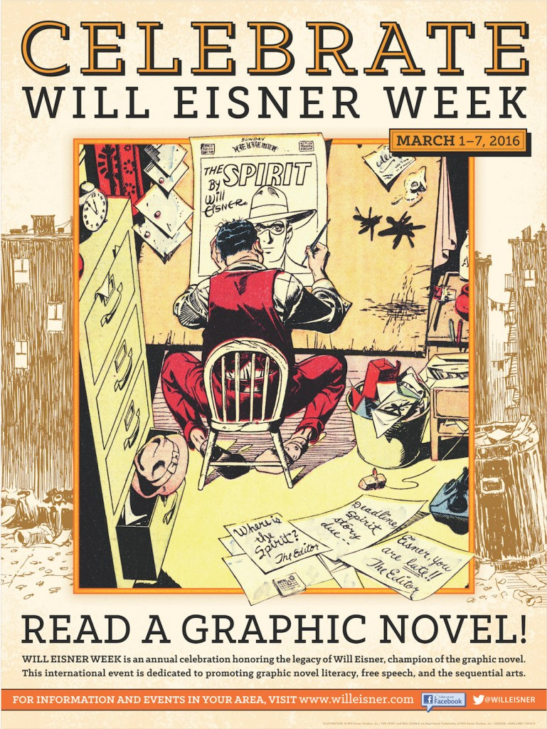 Will Eisner Week Celebrates Graphic Novels and Free Speech!