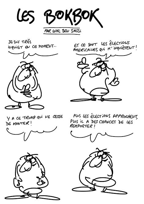 Les Bokbok comic