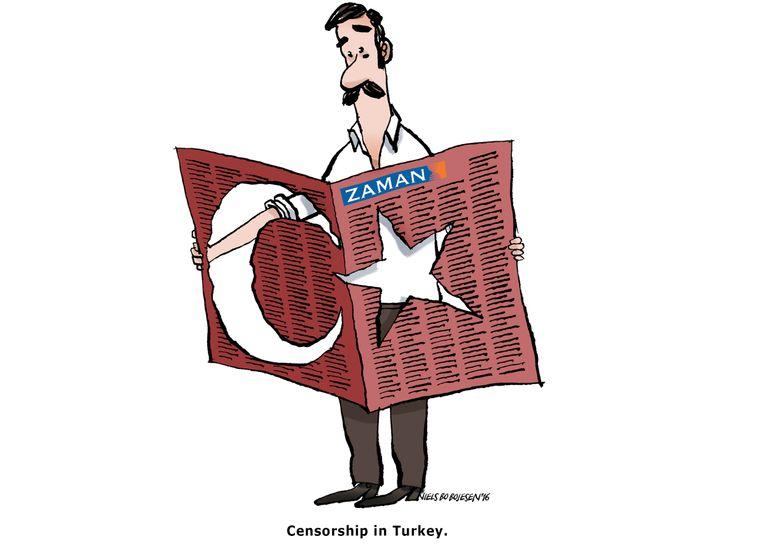 Turkish Government Seizes Opposition Newspaper Zaman
