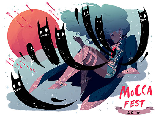 NYC: Join CBLDF for MoCCA This Weekend!