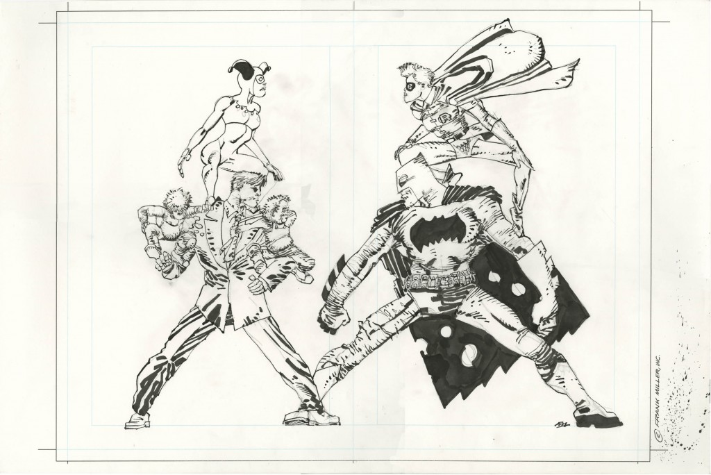 A Rare Opportunity to Take Home a FRANK MILLER Original!