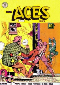 Three Aces #2 (Anglo-American Publishing, 1946)