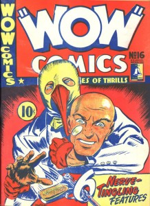 Wow Comics #16  (Bell Features, 1943)