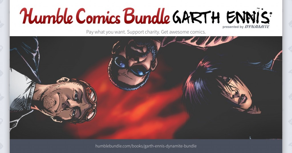 Dynamite Entertainment and Humble Bundle Offer the Essential Garth Ennis Bundle to Benefit CBLDF!