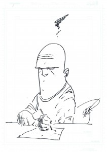 Erik Larsen Self-Portrait