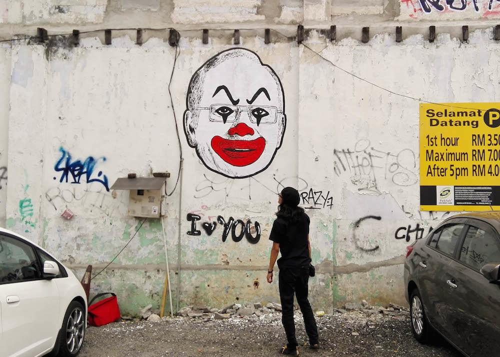 Malaysian Artist Charged for Viral Image of PM as Clown