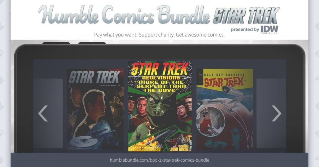 IDW and Humble Bundle Offer Star Trek Comics Bundle for Charity, Including CBLDF!