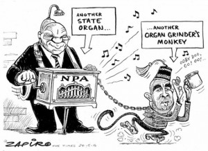South Africans Debate Legacy of Racist Imagery in Political Cartoon