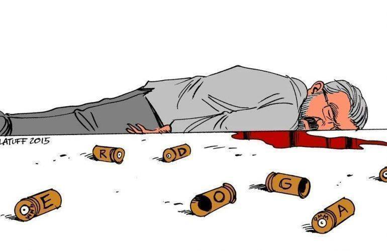 Carlos Latuff cartoon