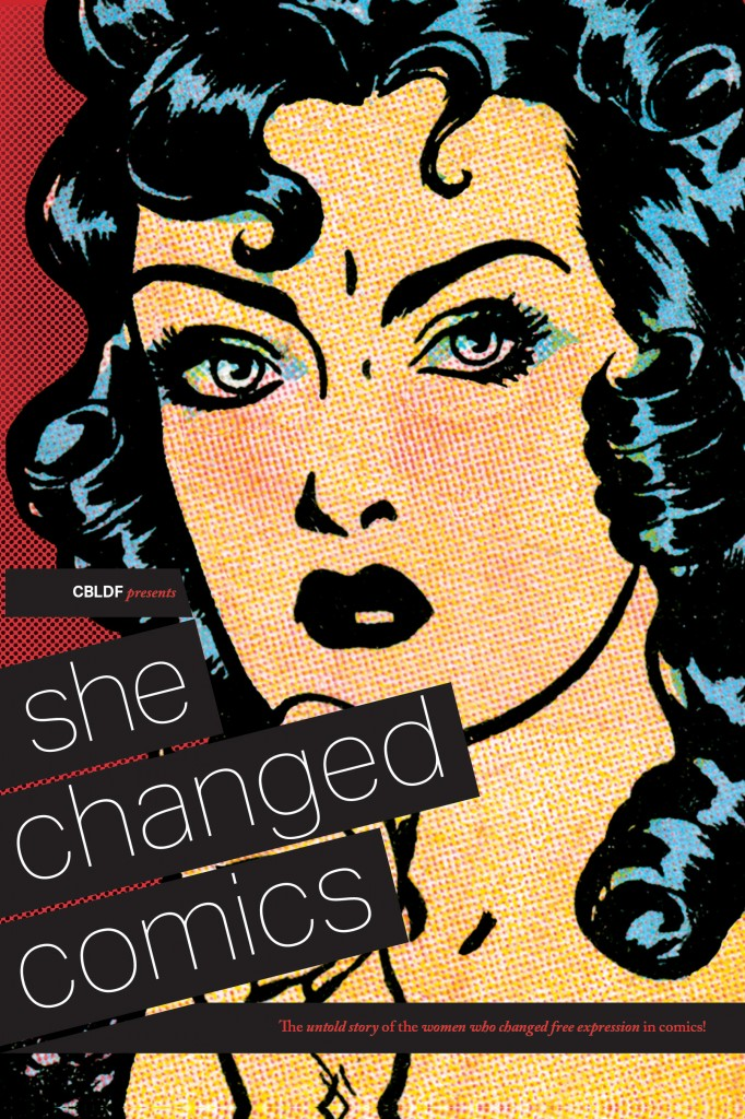 She Changed Comics Retail Orders Due Monday 8/8