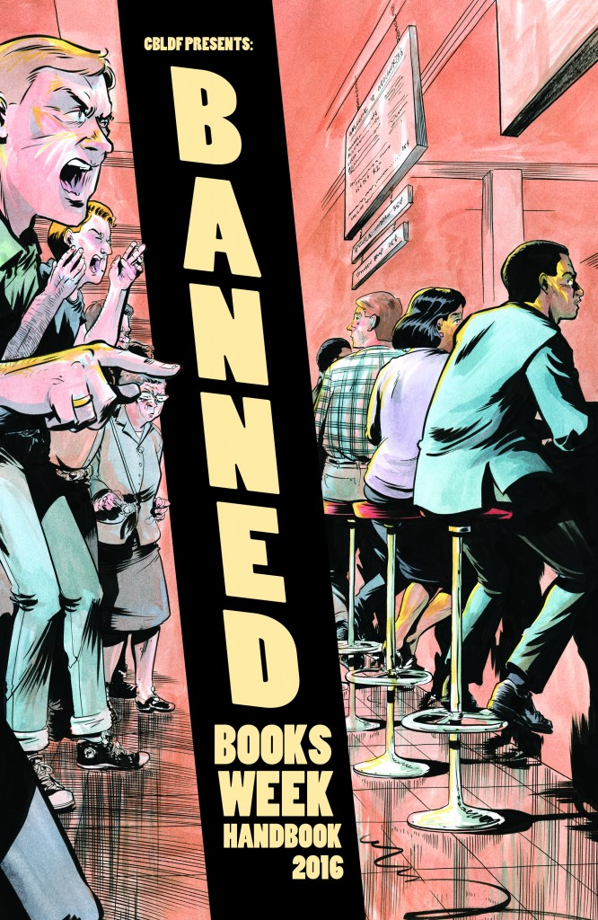 RETAILERS: Engage Your Community with the CBLDF Banned Books Week Handbook! FOC's 8/15!