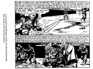 """Foul Play!"" reproduced in The Seduction of the Innocent. Originally published in EC Comics Haunt of Fear #19."