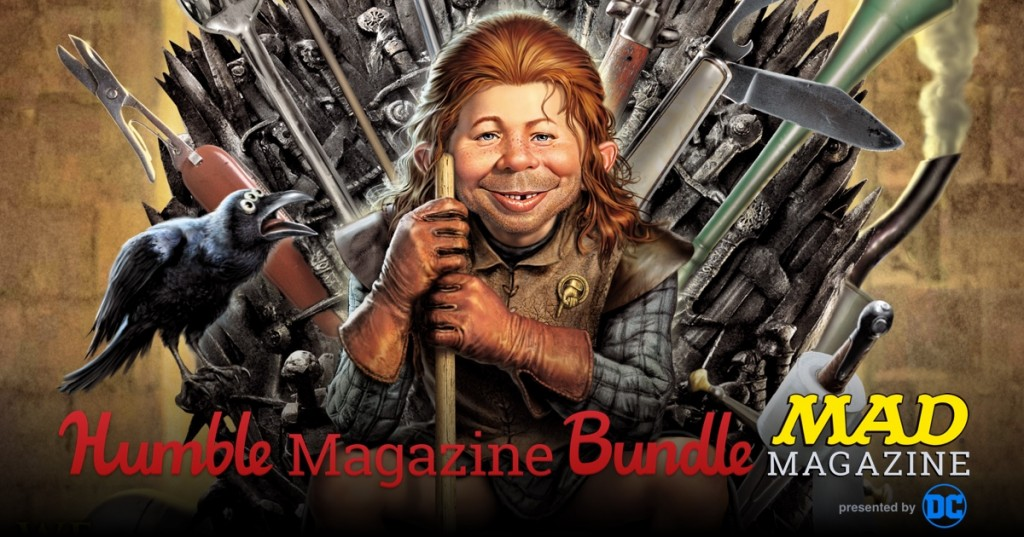 The Humble Magazine Bundle: MAD Magazine Presented by DC Entertainment, Benefitting CBLDF