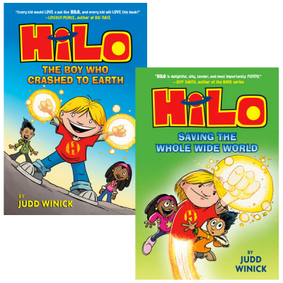 Using Graphic Novels in Education: HiLo by Judd Winick