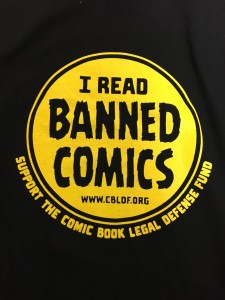 Celebrate Banned Books Week with CBLDF Shirts, Patches, & More!