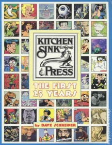 Kitchen Sink Press Book