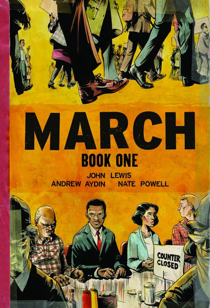 March Book One NEW PRINT