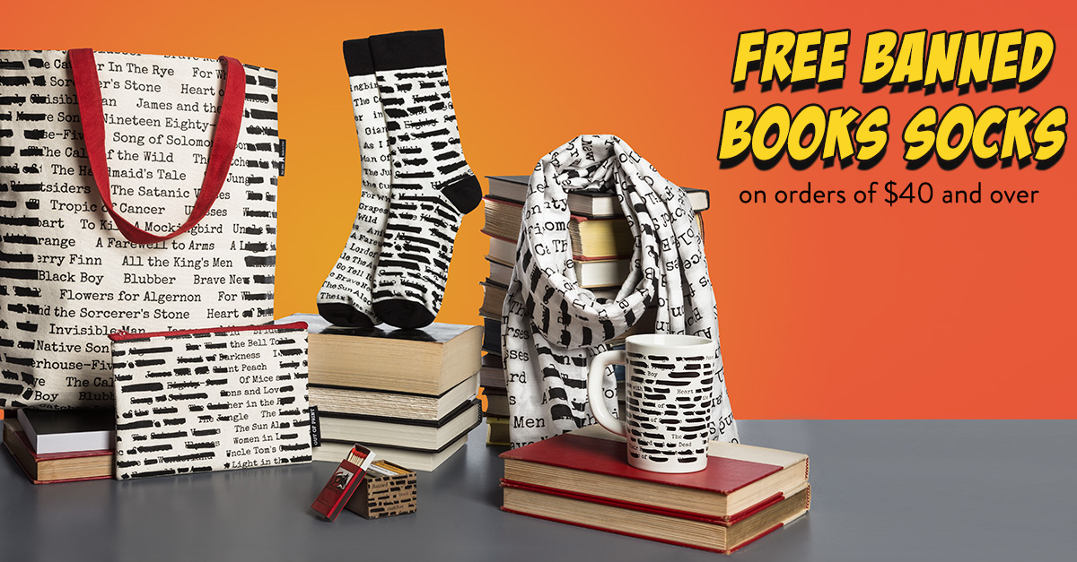 Out of Print Supports CBLDF During Banned Books Week