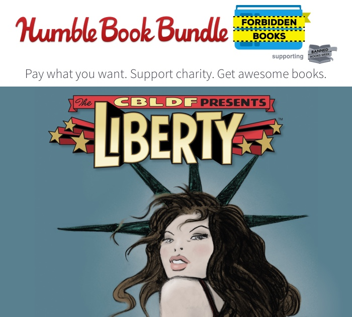 "Humble Launches New ""Forbidden"" Books Bundle in Honor of Banned Books Week to Benefit CBLDF!"