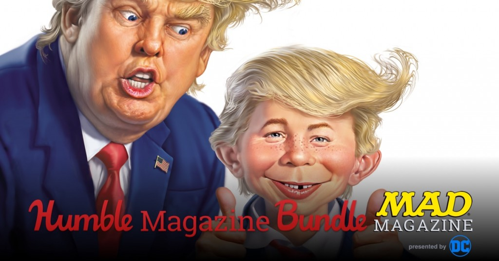 MADNESS: The Humble MAD Magazine Bundle Expands to Benefit CBLDF