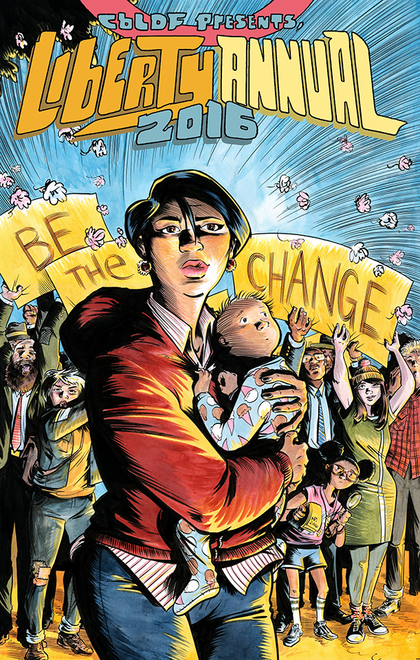 RETAILERS: CBLDF Liberty Annual 2016 FOC is Today!